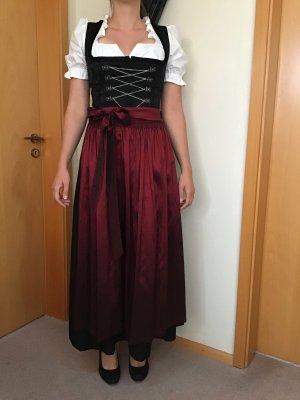 Berwin & Wolff Vestido Dirndl negro Poliéster