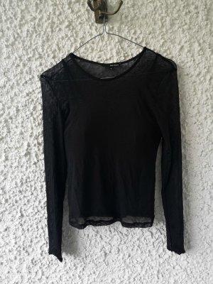 Tally Weijl T-shirt court noir coton