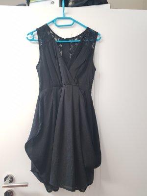 H&M Chiffon jurk zwart