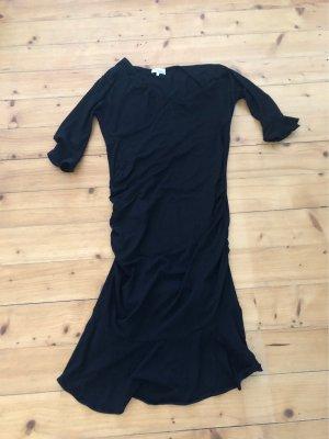 Schwarzes elegantes Schwangerschaftskleid von Mama Licious Gr. L