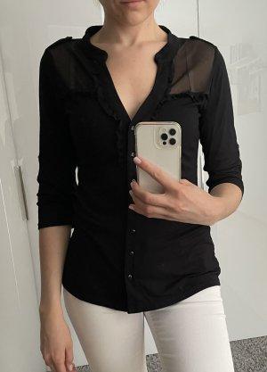 Schwarzes elegantes Shirt