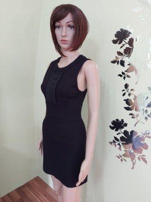 Schwarzes eng anliegendes Kleid