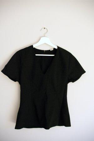 ARKET Basic Top black wool