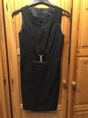 BSB Collection Robe fourreau noir coton