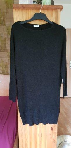Schwarzes Feinstrick Kleid,  Gr.36 / S