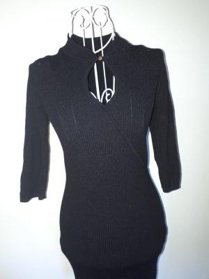 Bodyflirt Robe en laine noir