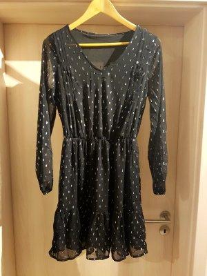 C&A Longsleeve Dress black-silver-colored
