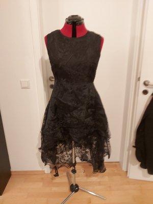 unknown Robe bas asymétrique noir