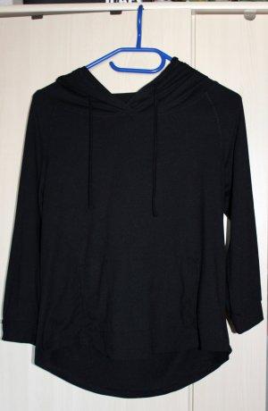 Crane Shirt met capuchon zwart