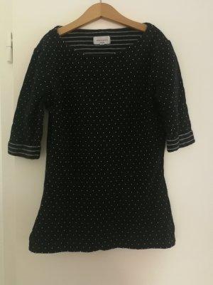 Schwarzes gepunktetes Shirt Armedangels XS