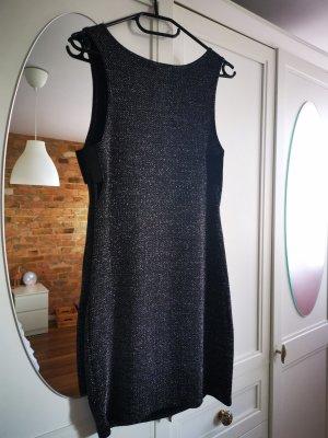 Schwarzes glitzer Kleid