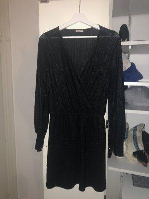 Schwarzes Glitzer Kleid Zara