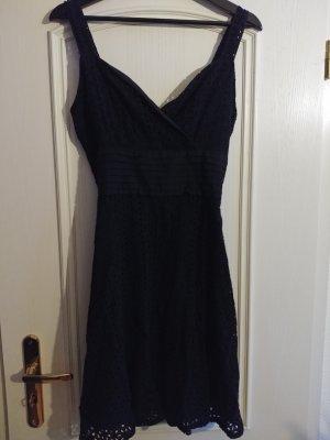 Schwarzes Gothic-Kleid