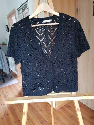 b.p.c. Bonprix Collection Cardigan all'uncinetto nero