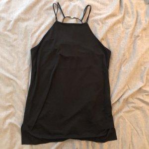 Zara Top de tirantes finos negro