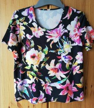 Peter Hahn T-shirt multicolore Viscosa