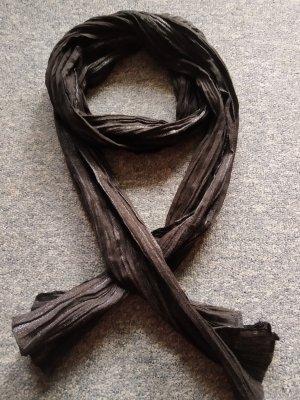Pieces Neckerchief black-silver-colored mixture fibre