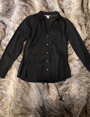 H&M Shirt met lange mouwen zwart