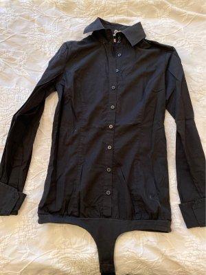 Silvian heach Chemise à manches longues noir