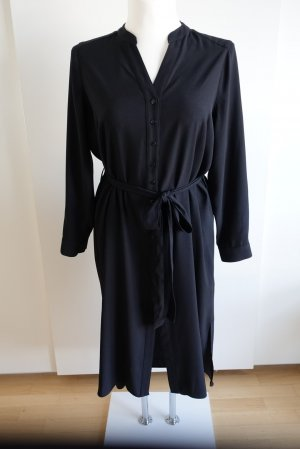 Marks and Spencer Shirtwaist dress black polyester