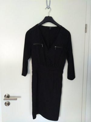 schwarzes Herbstkleid von Yessica pure