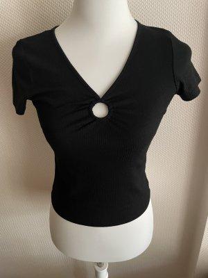 Schwarzes Hollister T-Shirt Gr. S
