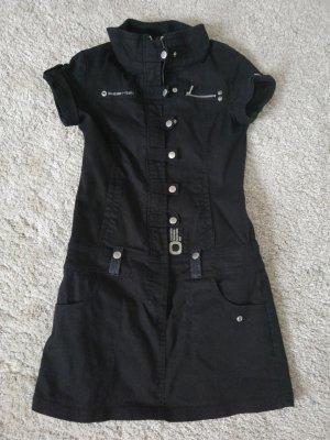 Only Vestido vaquero negro