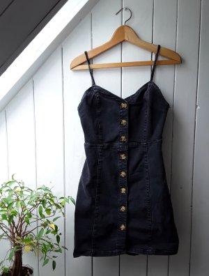 Schwarzes Jeanskleid von Denim Co.