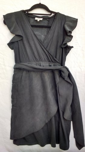 Schwarzes Jersey-Cupro-Etuikleid von Noa Noa