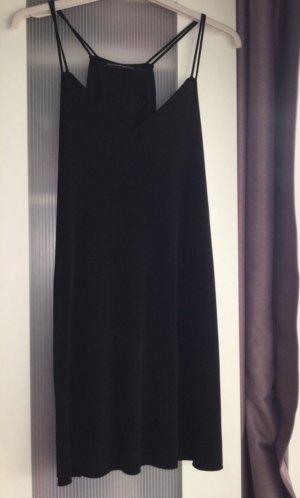 schwarzes Jerseykleid in onesize von Brandy Melville