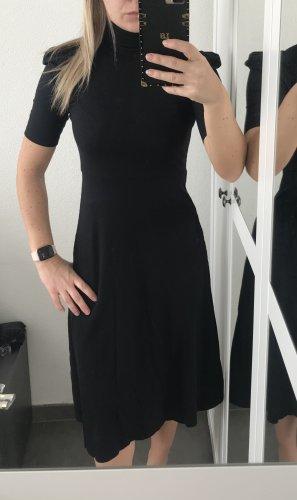 Schwarzes Jerseykleid von Zara Gr. XS neu ohne Etikett