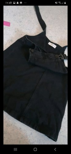 schwarzes kaum getragenes Jeanskleid von Mango