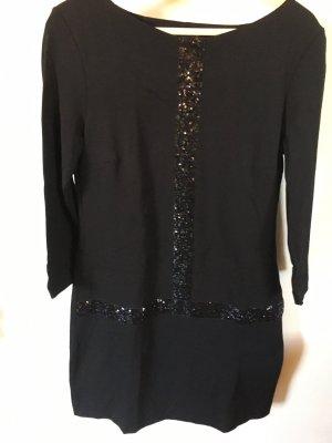 Ana Alcazar Robe à paillettes noir