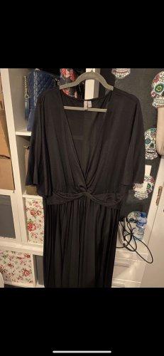 Asos Sukienka z krótkim rękawem czarny