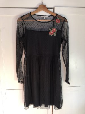 C&A Clockhouse Mini Dress black-carmine