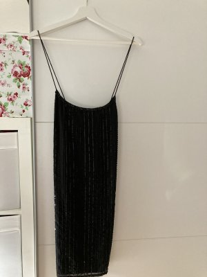 Gina Tricot Sequin Dress black