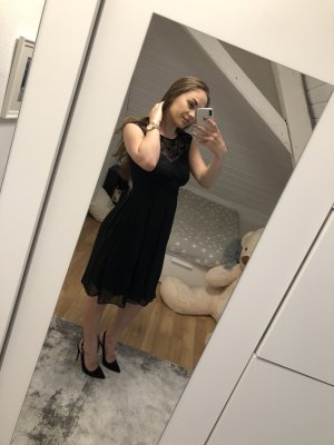 Zero Evening Dress black