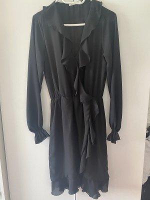 Bella Ragazza Robe chiffon noir