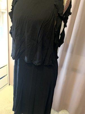 edc Vestido con flecos negro