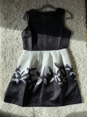 Tube Dress black-white