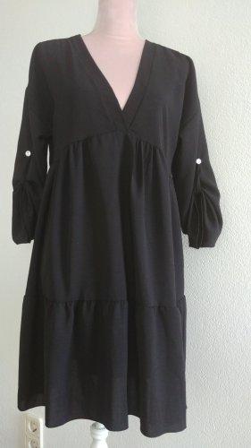 Flounce Dress black