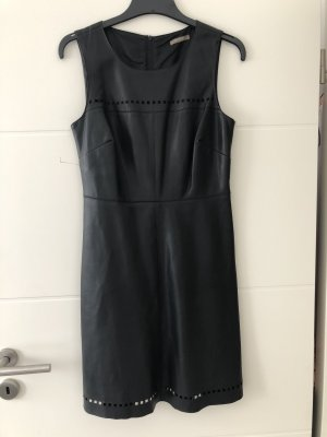 Leather Dress black