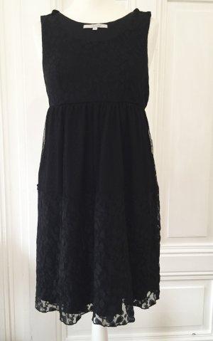 Schwarzes Kleid aus Spitze von SUD Express