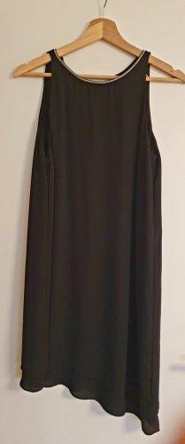 H&M Vestido cut out negro