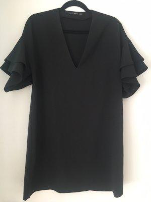 Schwarzes Kleid Cocktailkleid Sommerkleid zara