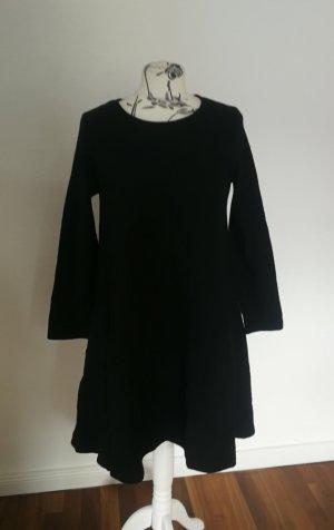 COS Wełniana sukienka czarny