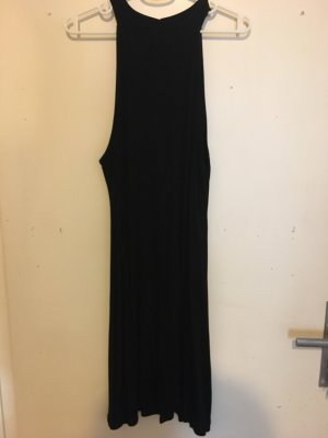 Missguided Vestido de cuello Halter negro