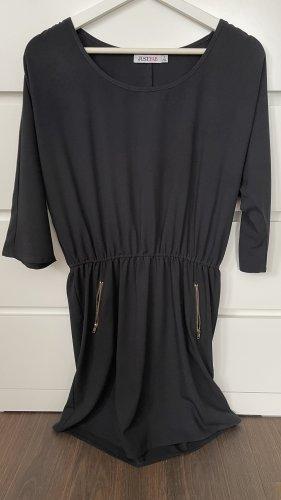JustFab Sheath Dress black-gold-colored