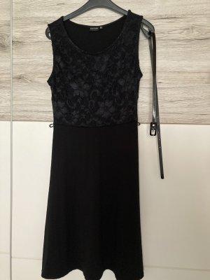 BODY FLIRT Sukienka z krótkim rękawem czarny