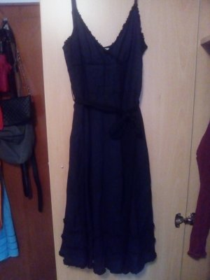schwarzes Kleid Fornarina